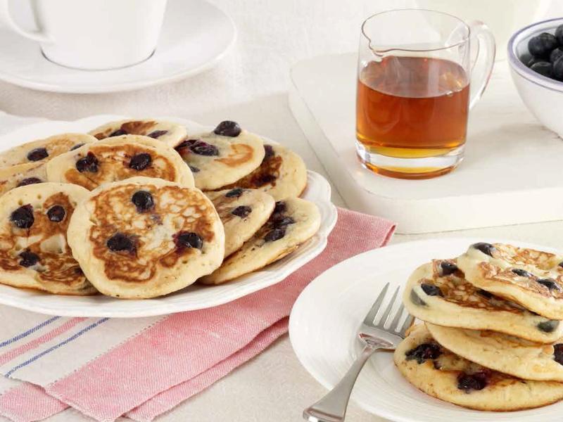 美式藍莓鬆餅