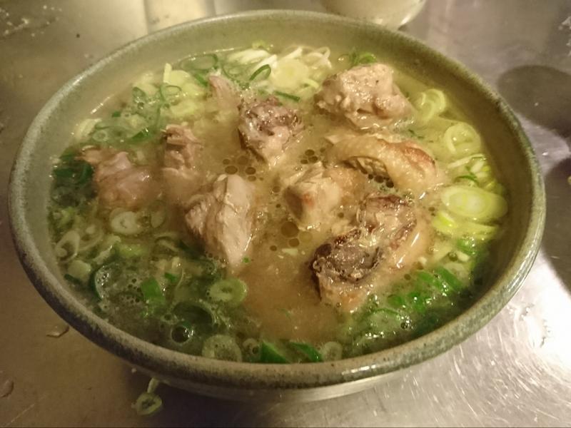 小改版蔥雞湯