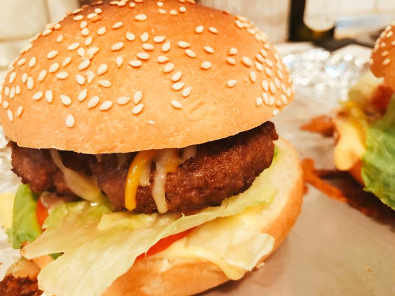 自製美味漢堡