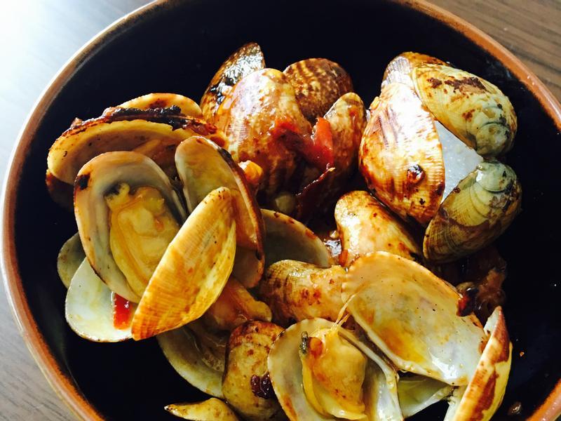 超咸蛤蜊煮