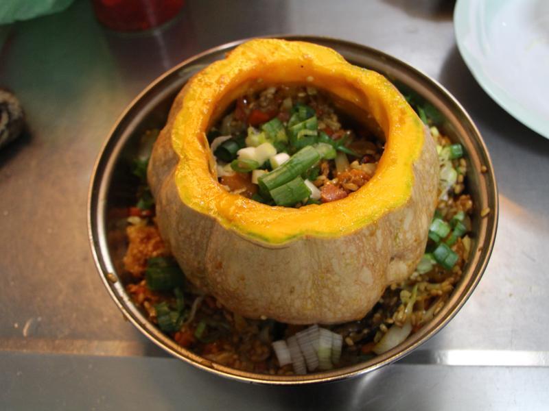 南瓜盅燉飯