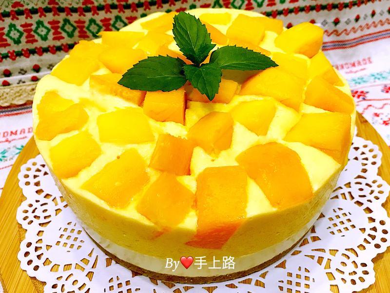 芒果多生乳酪慕斯蛋糕(6吋、免烤箱)