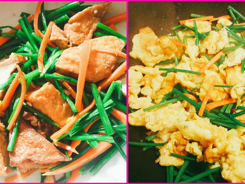 簡易清炒韭菜花