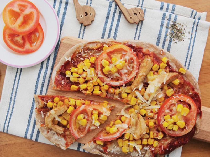 義式抓餅披薩
