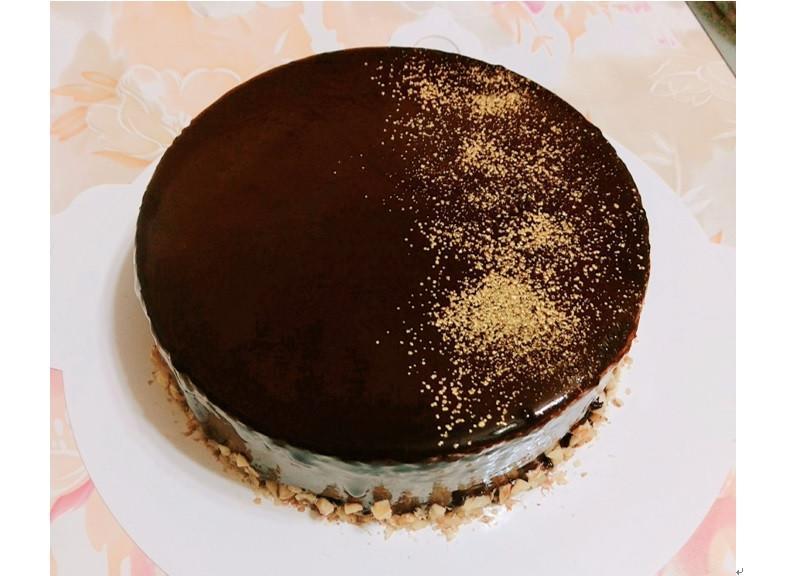 巧克力慕斯鏡面蛋糕