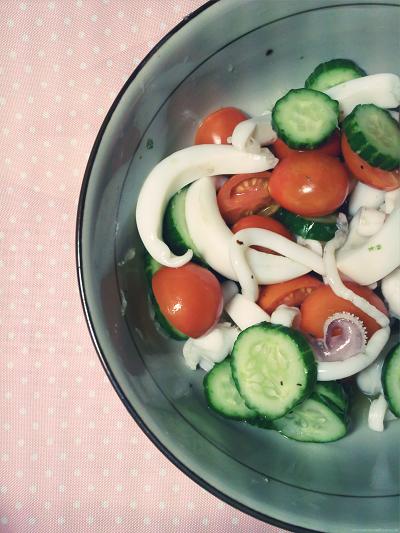 花枝涼拌沙拉