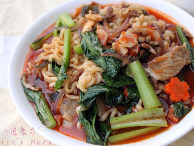 韓式豬肉炒麵