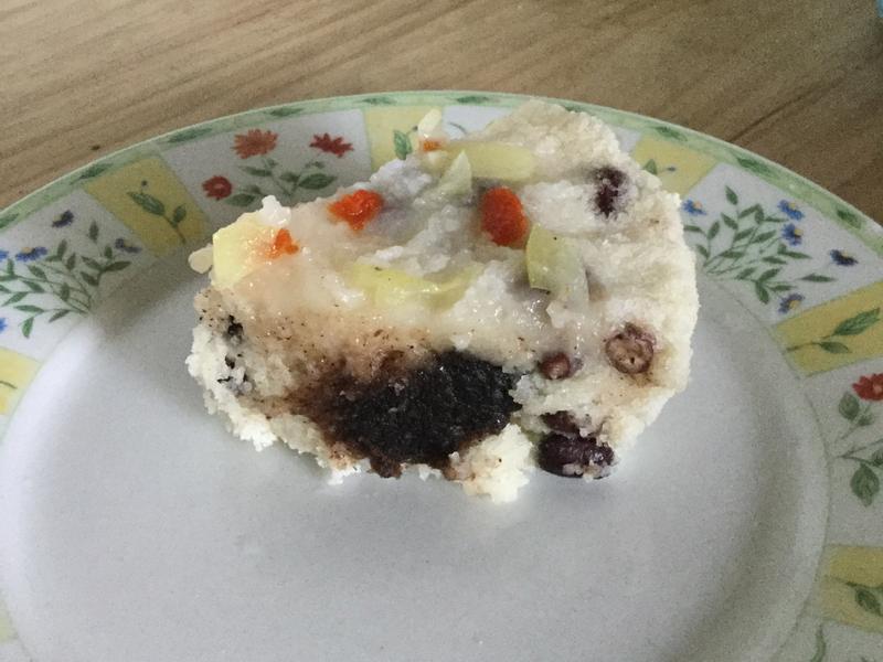 浙江名菜紅豆鬆糕