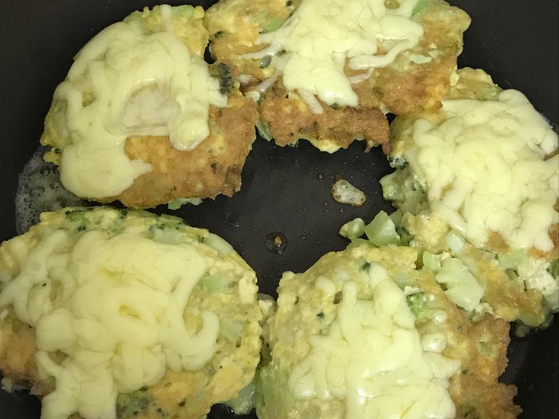 花椰豆腐漢堡排佐蜂蜜油醋醬(蛋奶素)