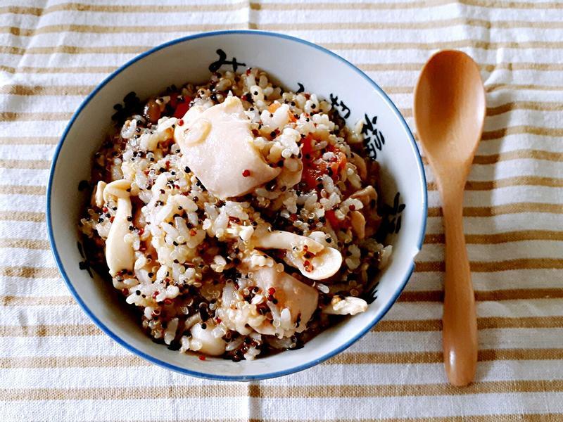 營養滿分的藜麥炊飯(大同電鍋)