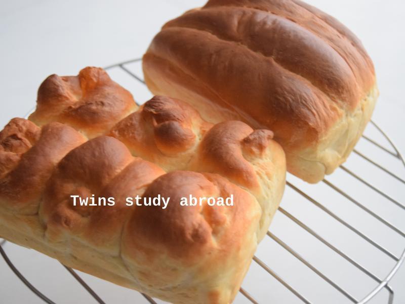 牛奶老式麵包