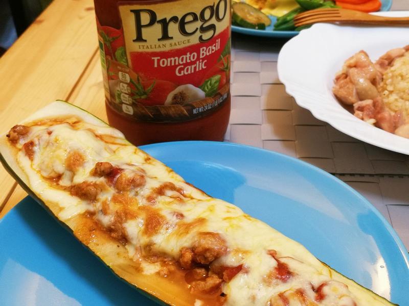焗肉醬鑲黃瓜【Prego 義大利麵醬】