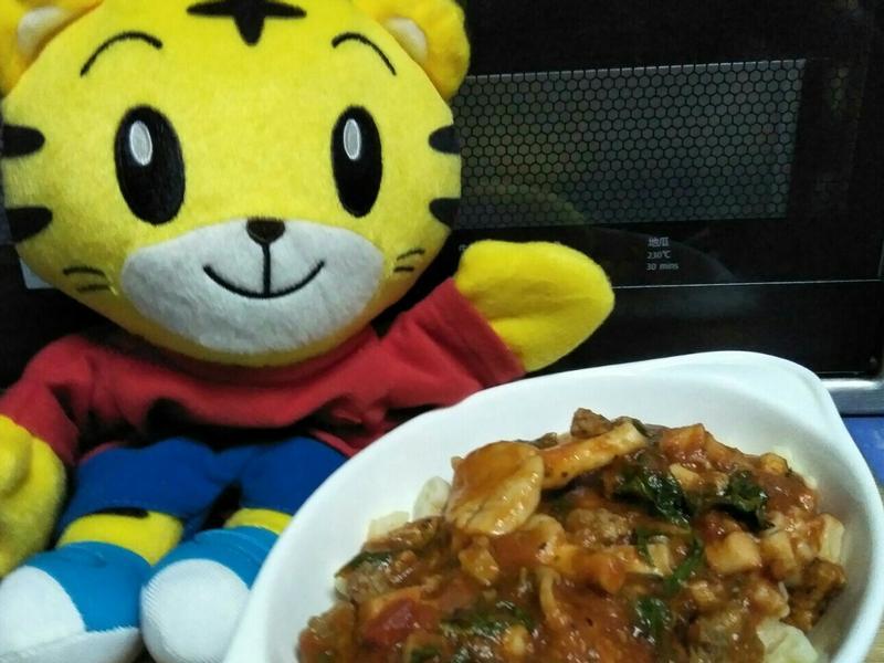 九層塔番茄牛肉麵-Prego 義大利麵醬