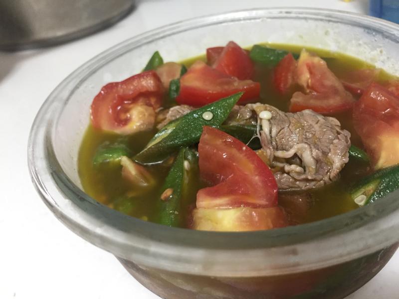 蕃茄牛肉沙拉