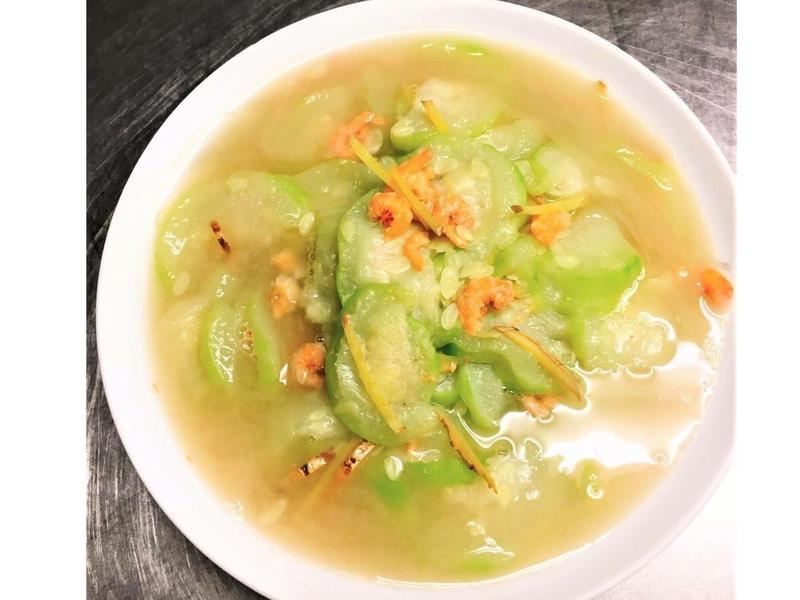【隨興料理】開陽燴絲瓜