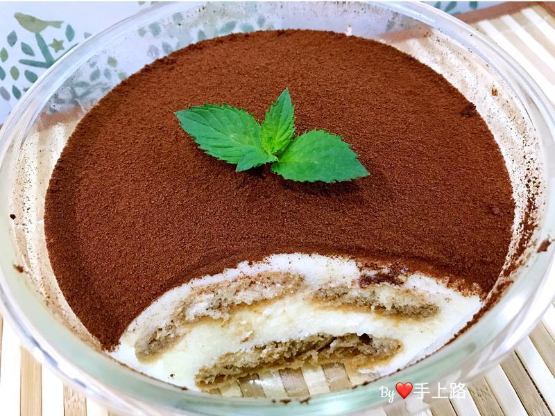 用棉花糖做提拉米蘇(免烤箱免蛋黃)