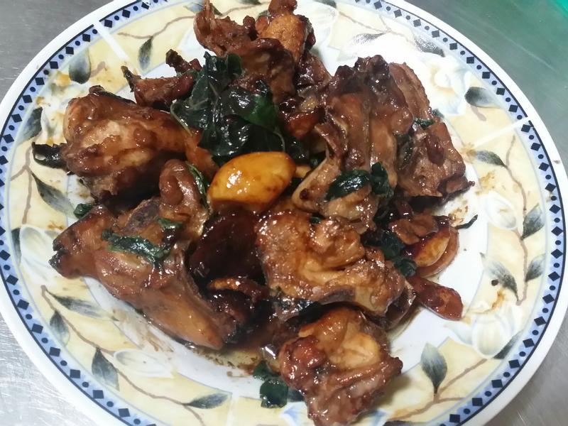 塔香醬燒雞♡