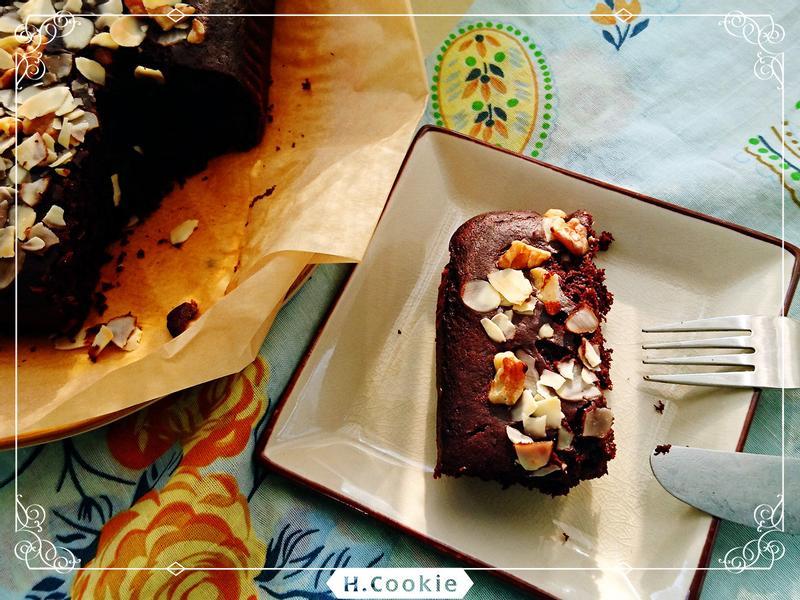 桔香巧克力布朗尼(純素)