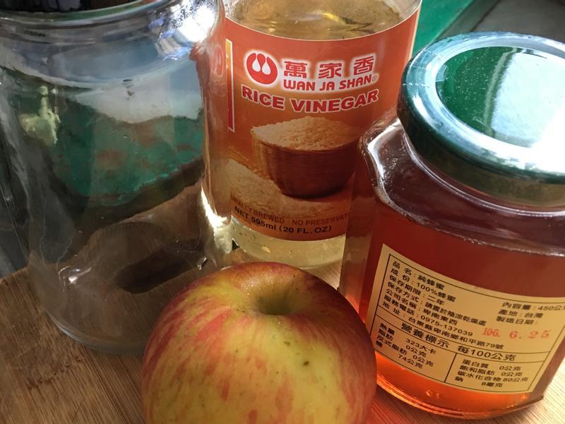 【寶媽媽】愛的料理。蜂蜜蘋果醋
