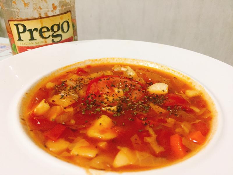 義式蔬菜湯(普格義大利麵醬)