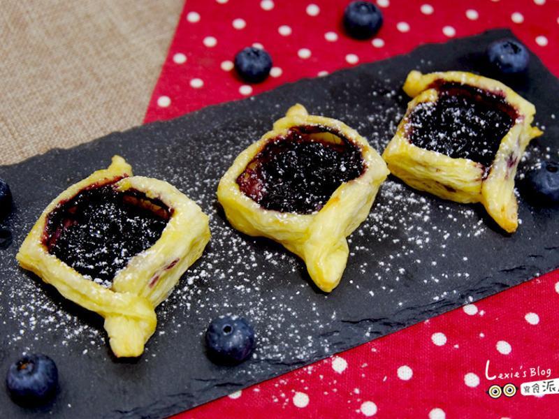 藍莓起酥派,超級簡單
