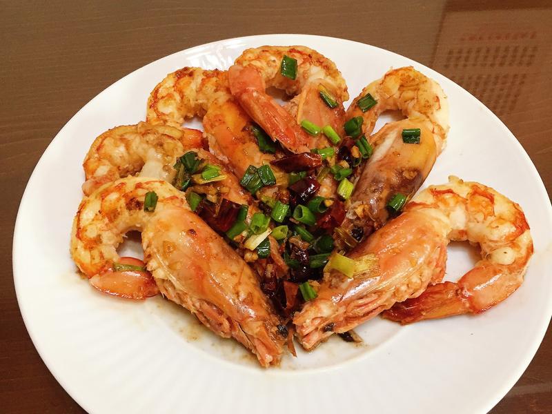 香煎蒜香天使紅蝦