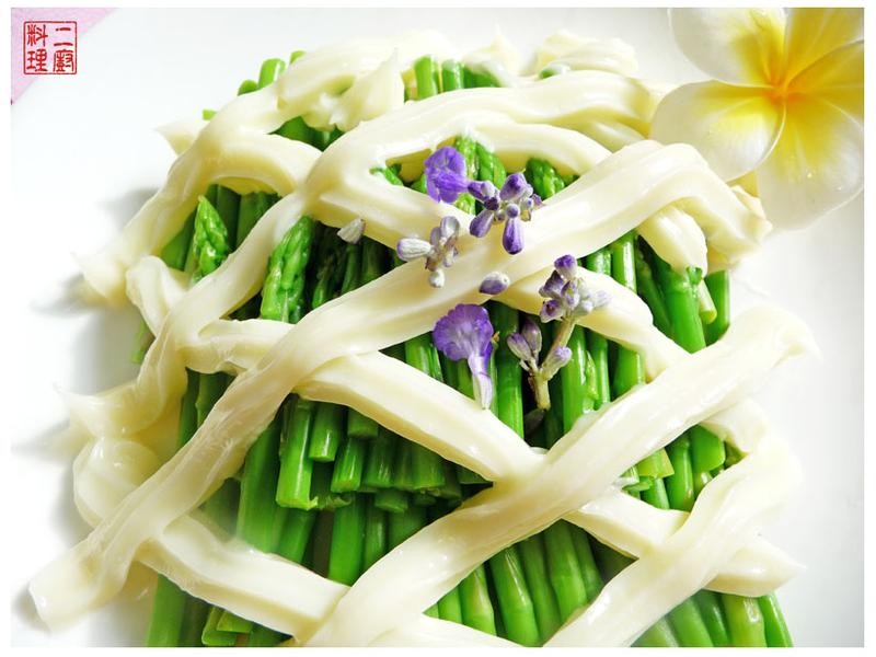 《二廚料理涼拌》沙拉蘆筍