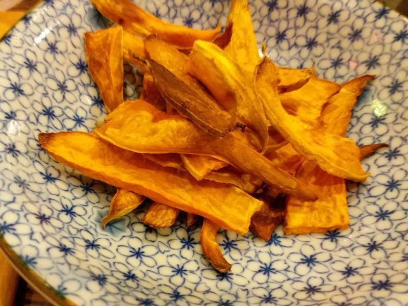 簡易烤地瓜薯片(副食品💚 1歲+)