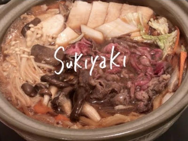 日式壽喜燒+家裡一定有的秘密調味料