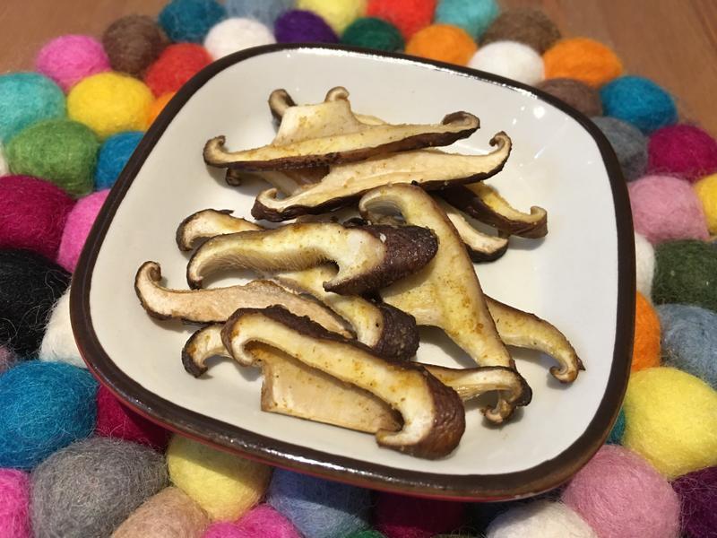 【寶寶食譜】咖哩烤菇菇