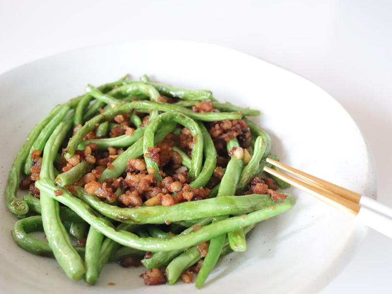 乾煸四季豆-簡單快速又免油炸
