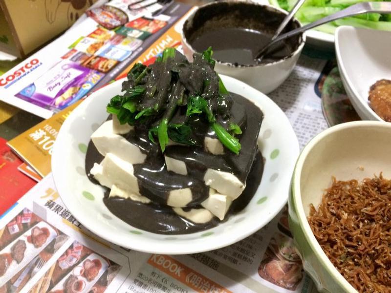 涼拌芝麻豆腐