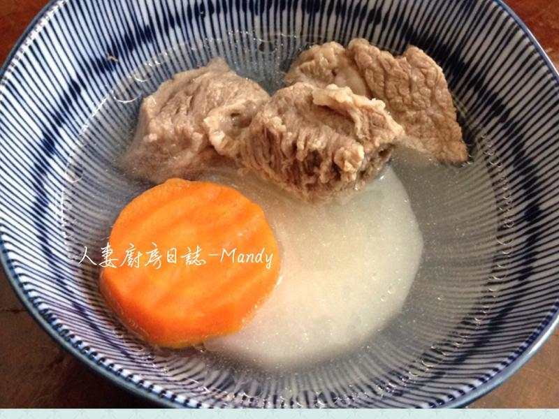 清燉牛腩蘿蔔湯