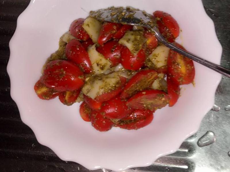 青醬番茄起司