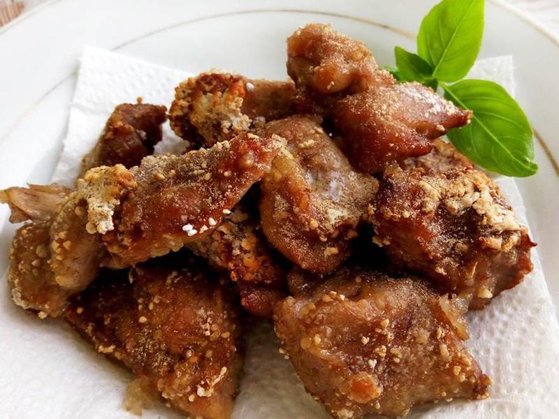 免炸鹹酥雞★烘烤版的低油鹹酥雞