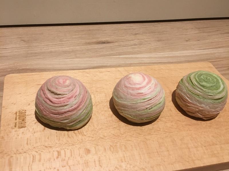 彩色芋頭酥💕💕