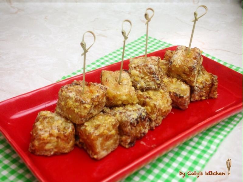 金沙高麗菜糕