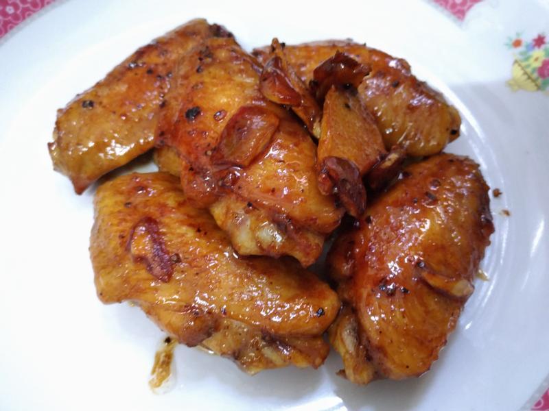 超簡單 !! 豉油王雞翼/醬油雞翅 !