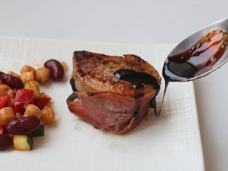 鼠尾草豬肉卷