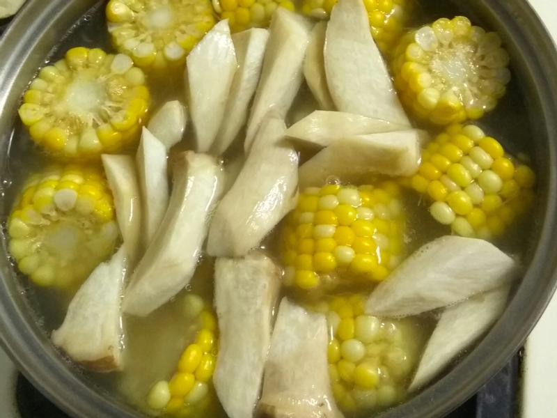 杏鮑玉米湯