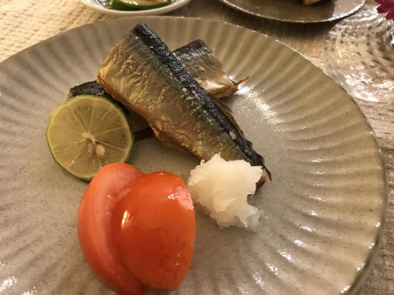 塩燒秋刀魚