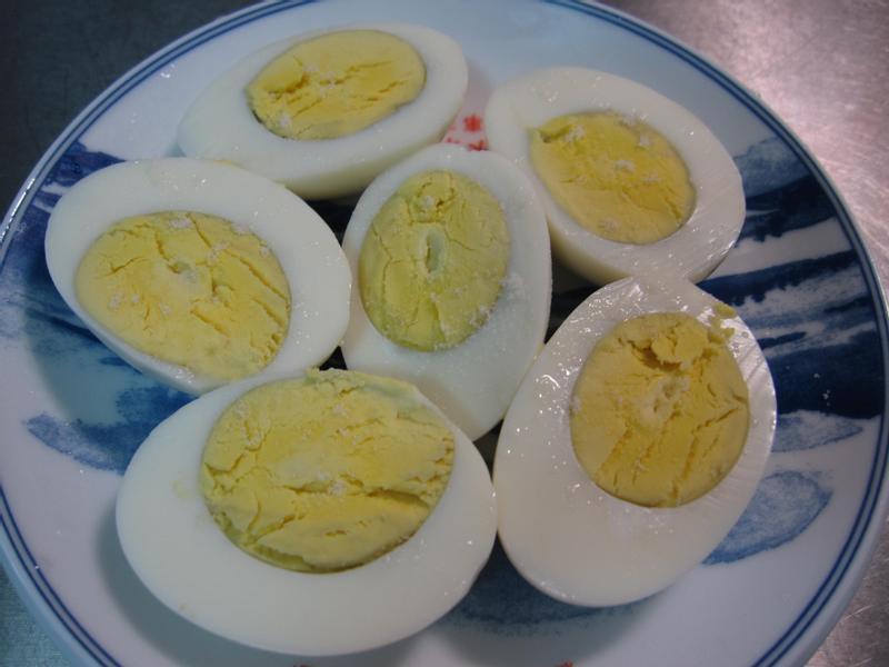 ▊聰明電鍋水煮蛋與不費力剝蛋殼法 ▊