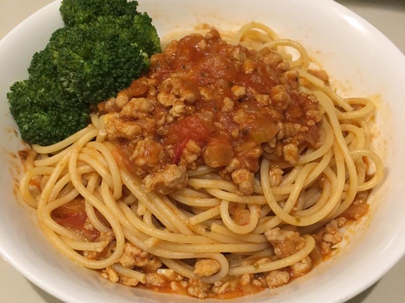 辣味蕃茄肉醬義大利麵
