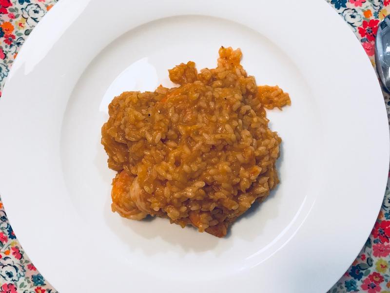 義式鮮蝦番茄燉飯