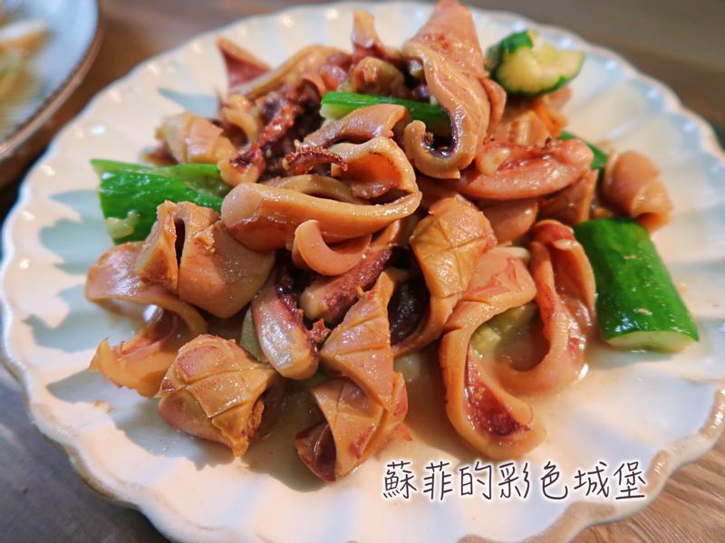 沙茶香炒黃瓜魷魚~令人懷念的古早味料理