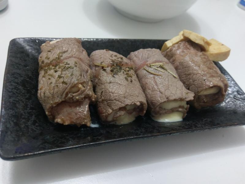 豆腐牛肉捲