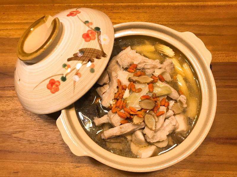 《暖冬快速料理-麻油松阪豬》