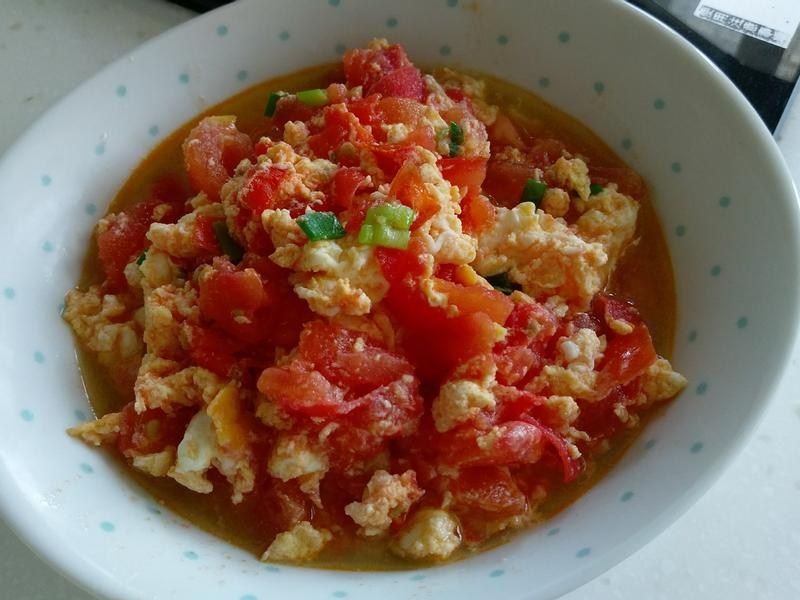 零廚藝料理-番茄炒蛋