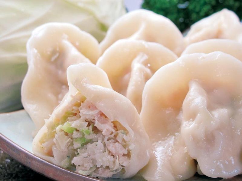 白蘿蔔豬肉餡水餃(含手工擀皮步驟)