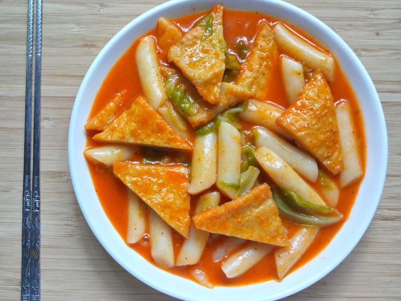 韓式辣醬年糕